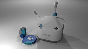 3D asthma inhalers