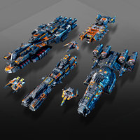 7 Low-Res Spaceships Vol17