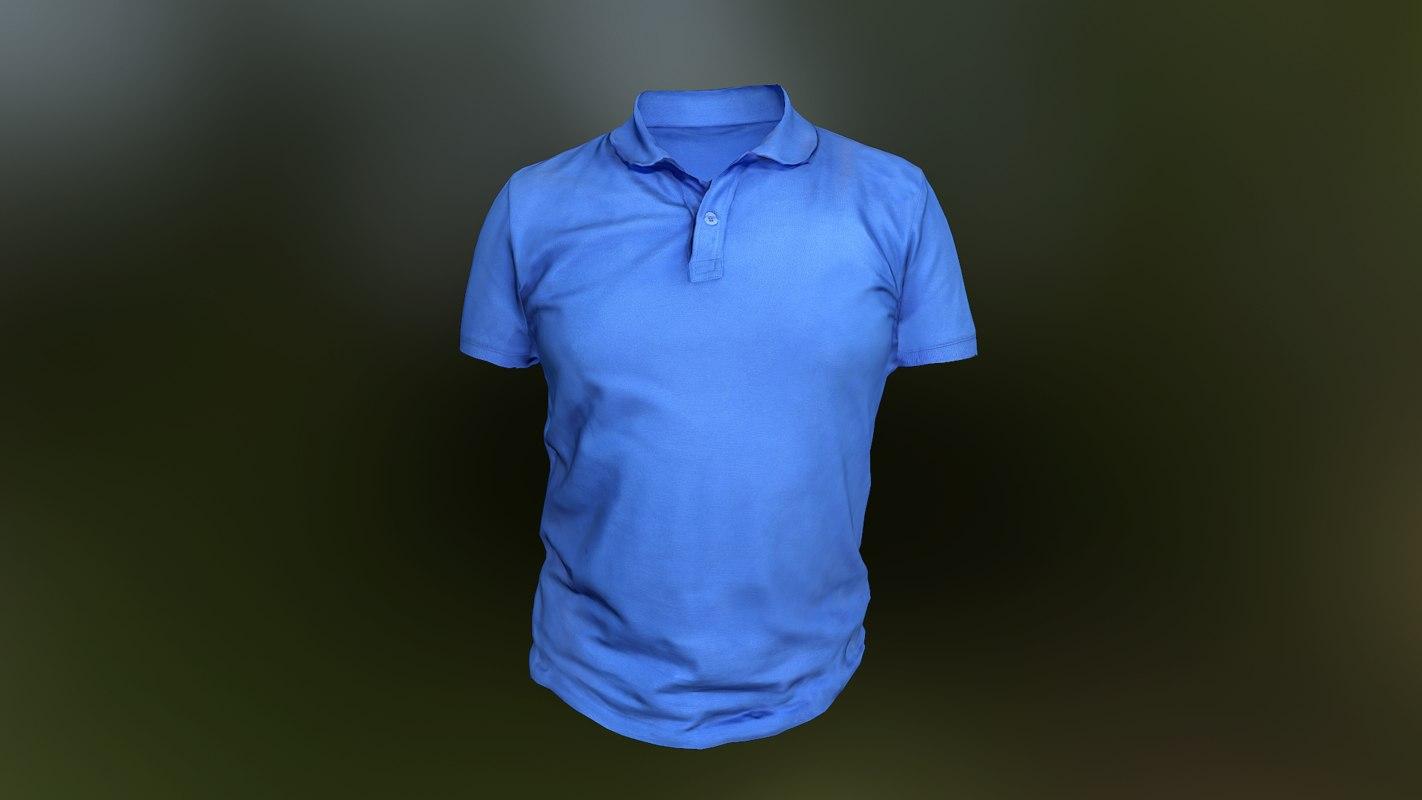 shirt t-shirt 3D