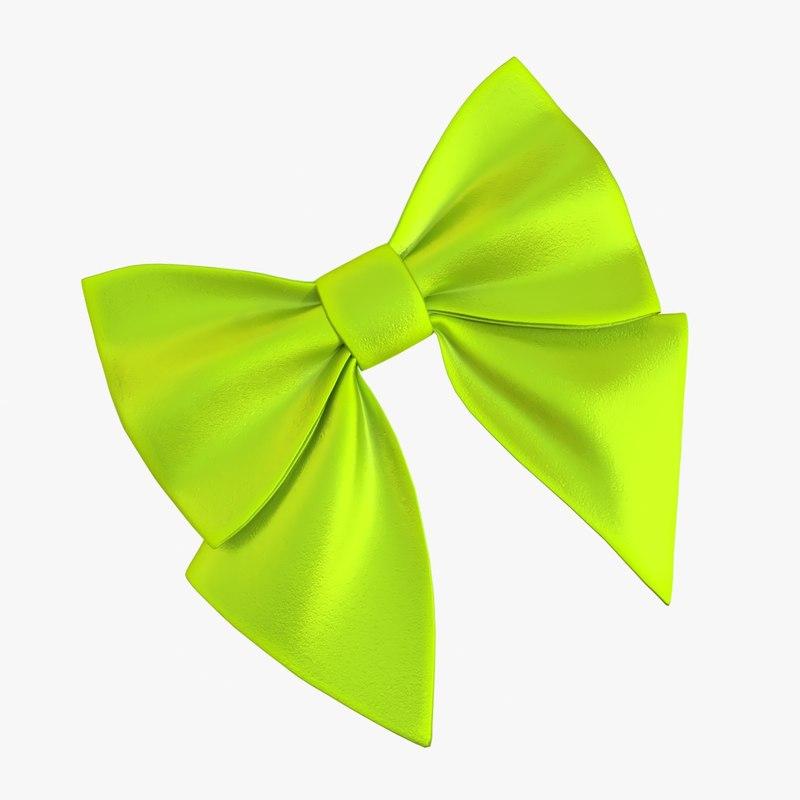 3D model bow 02 05