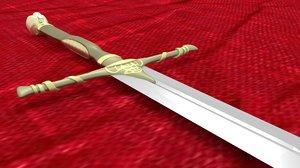3D jaime lannister s sword