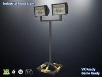 low-poly light 3D model