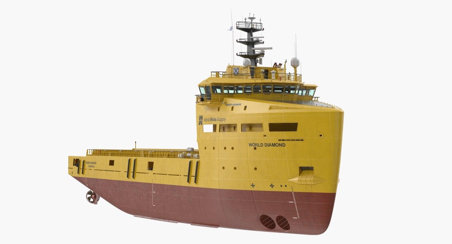 3D psv ship