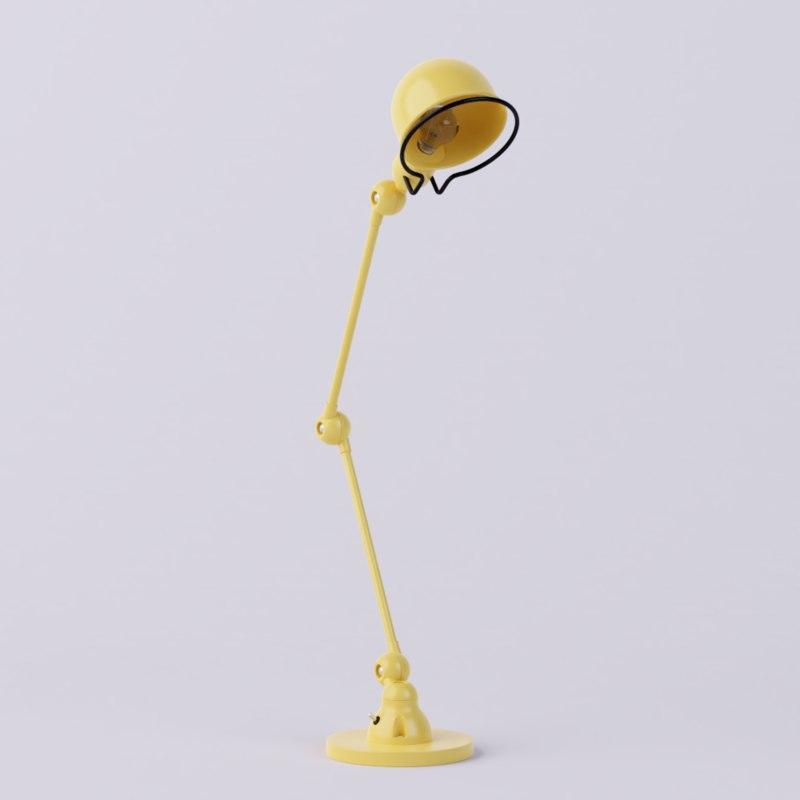 jield loft d6440 desk lamp 3D model
