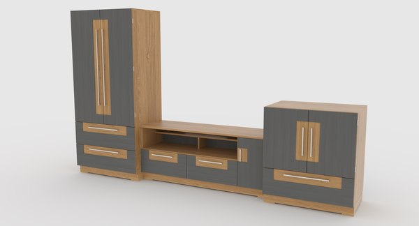 3D tv stand 61