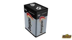 energizer 9v battery model