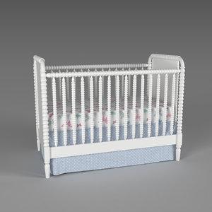 3D baby crib