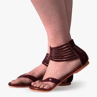 Woman's Legs & Sandals