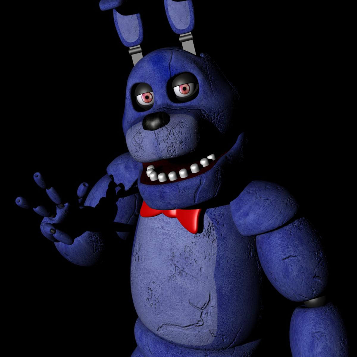 Five Nights At Freddy's Bonnie Animated bonnie from five nights at freddy's