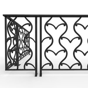 3D modular railing
