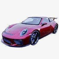 porsche 911 gt3 3D model