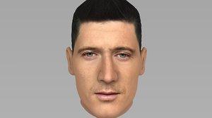 3D robert lewandowski