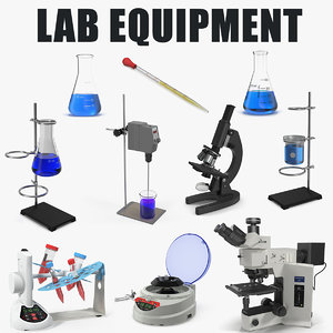 3D model lab equipment