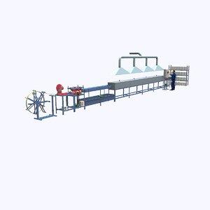 fibre-reinforced plastic rebar factory model