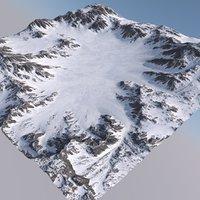 Snowy Terrain MTH074