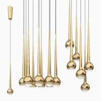 tobias grau falling gold 3D model