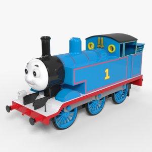 3D model thomas train