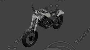cmx-500 motorcycle 3D model