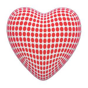 mesh heart modelled 3D model
