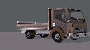 3D car cartoon toon