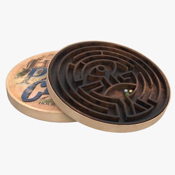 pigs clover labyrinth 3D
