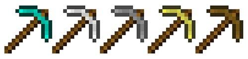 3D minecraft axe