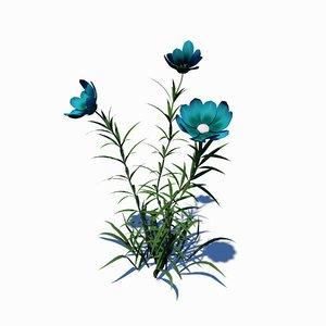 wild flower 3D model