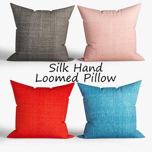 3D model decorative pillows westelm set