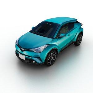 2016 toyota ch-r 3D model