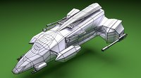 3D spaceship - endeavour space