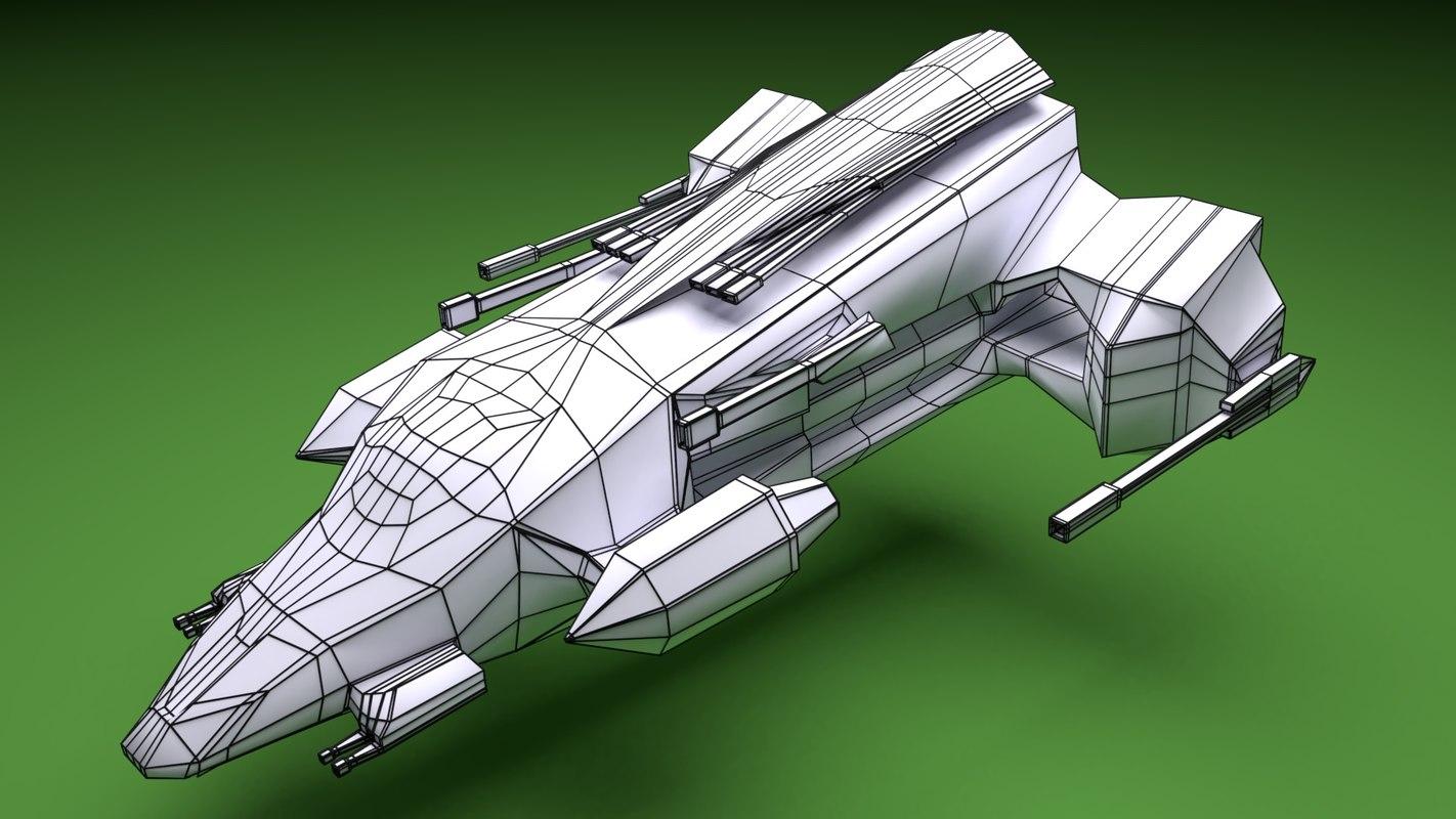 3D spaceship - endeavour space