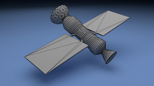 satellite space engineering 3D