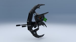 3D sharpshooter drone model
