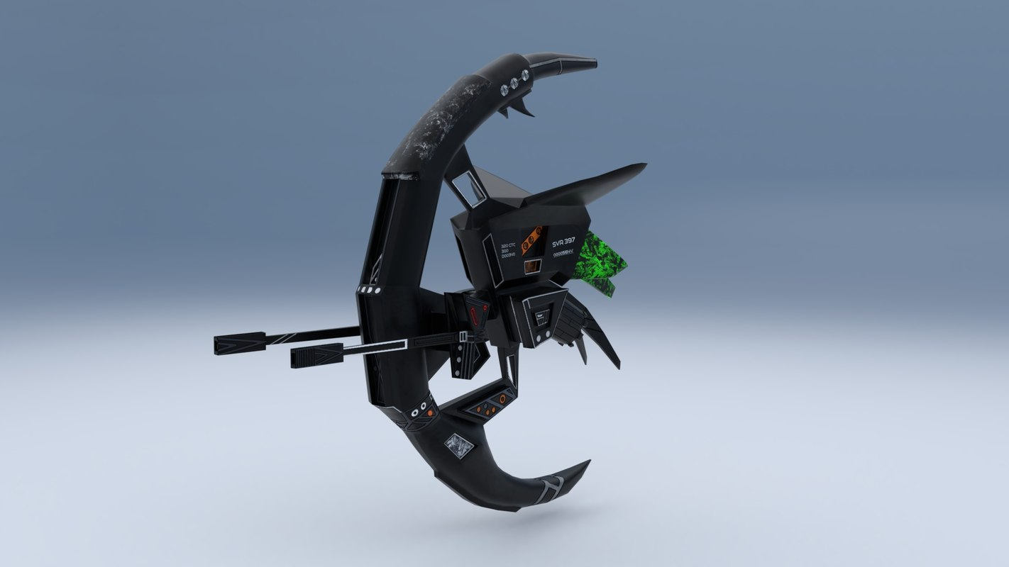 3D sharpshooter drone model
