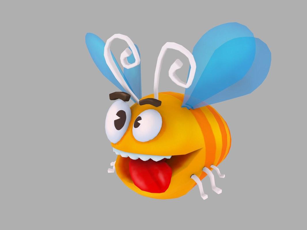 3D bee crazy