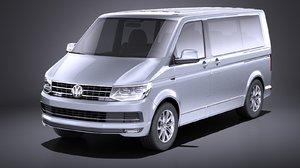 volkswagen transporter multivan 3D
