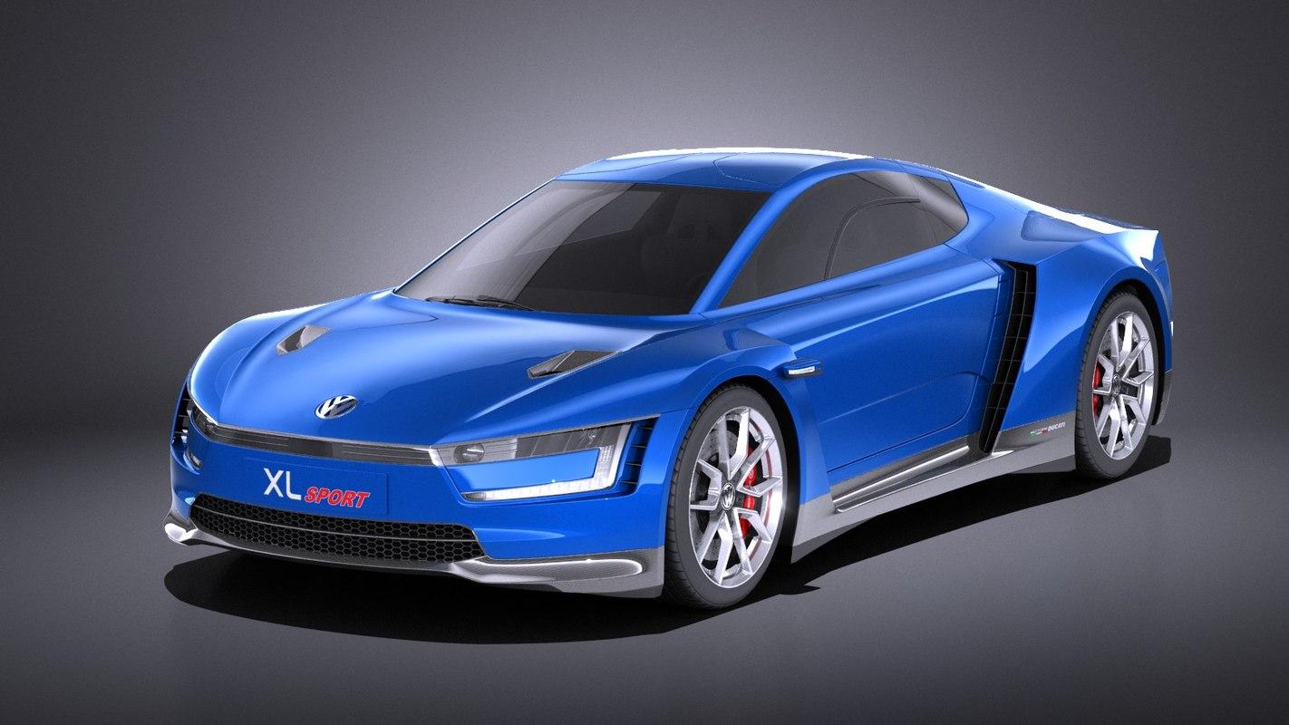 3D 2015 sport volkswagen