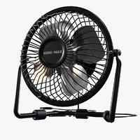 3D fan usb model