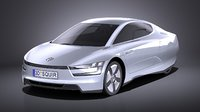 3D model 2014 volkswagen xl1
