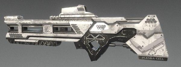gun weapon eradicator 3D