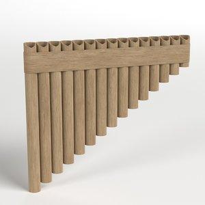 pan flute model
