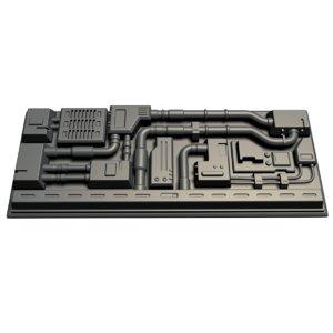 element sci-fi 3D model