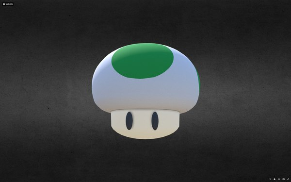 mushrooms extra life 3D model
