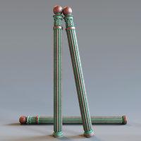 3D model baluster cnc