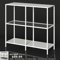 ikea vittsjo shelf unit 3D model
