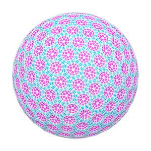 3D abstract ball model