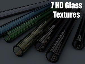 3D 7 hd glass model