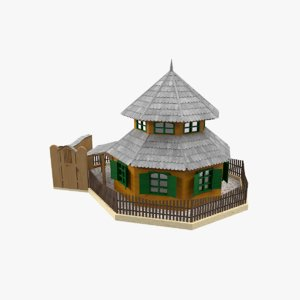 house structure building model