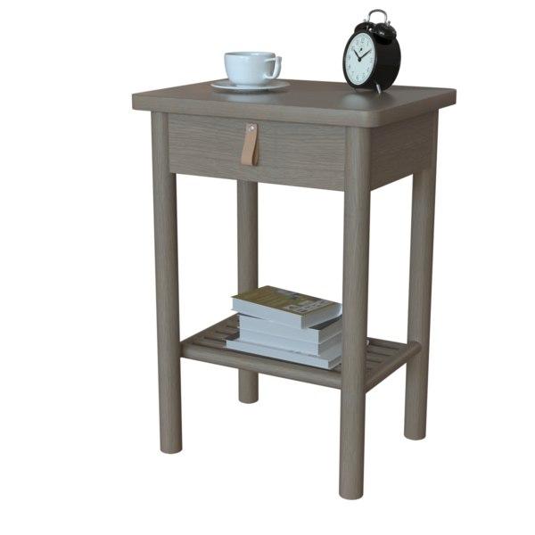 ikea bjorksnas bedside table 3D model