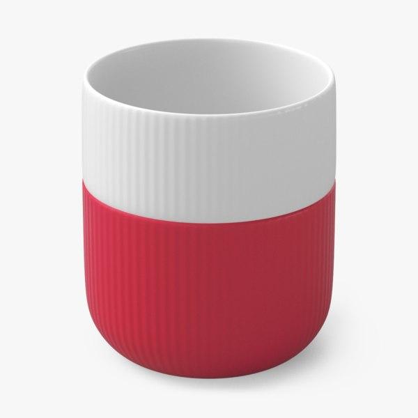3D contemporary mug